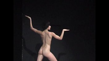 Sex as performance art - Naked on stage performance