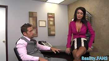 Bigtits stunner pounded at the office by CEO