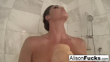 Girlfriend Experience with Busty Alison Tyler in a Hotel