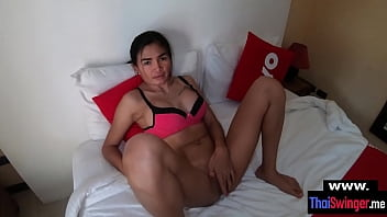 Celebrating with Noom my real amateur Thailand fuck buddy chick