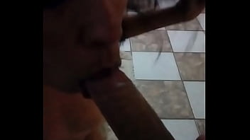 Chocolate and pepper couple hear how she moans