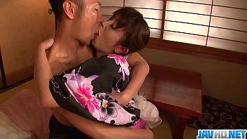 Marikaґs japan girl blowjob ends in a pussy creampie - More at javhd.net thumbnail