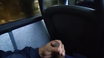 handjob on the bus