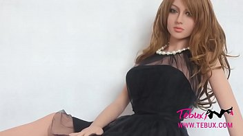 Real solid sex dolls Real life sex doll brunette beauty with big tits