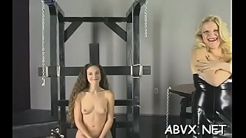 Extreme pussy clips - Tight pussy extreme bondage in home xxx clip