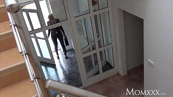MOM Estate agent MILF wakes and fucks horny student 8 min