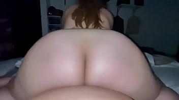 Huge ass girl fucked in reverse cowgirl position