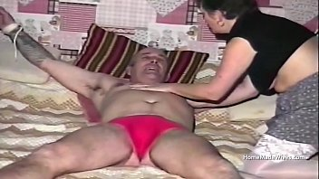 Foul mouth council estate mature housewife threesome 5 min