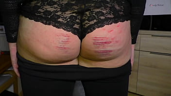 Spank her until she cries - Clip 51p first spanking for penny - full version sale: 14