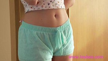 Lesbea European teens Anie Darling and Lady Bug make sweet lesbian love