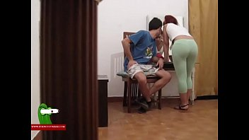Blowjob and hot fucked in front of the mirror ADR0150