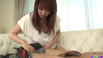 Hina Misaki treats cock with lust and passion
