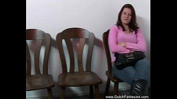 Dutch Babe Sucks Off Two Dudes