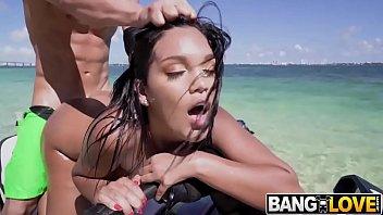 Brazilian bikini tops - Alina belle deserted island fuck