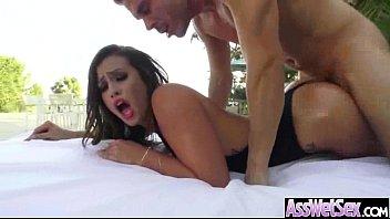 (kelsi monroe) Big ass Olied Girl Real Love Anal Bang movie-18