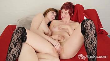 Horny Yanks Lesbians Sosha Belle And Aurora Odaire
