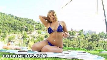 Culioneros - Fucking Busty Blonde Argentinian Babe Carol Ferrer