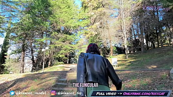 Fuck me in Park for Cumwalk - Public Agent Pickup Russian Student to Real Outdoor Sex / Kiss Cat 15 min