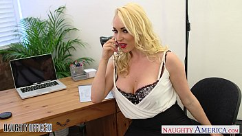 Milfs fucking in the office - Blonde victoria summers ride cock in the office