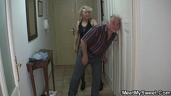 Man orgasm tricks - She is tricked into 3some by his old parents