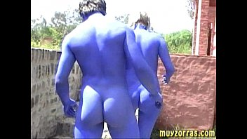 The smurfs sex movie - Behind the scene