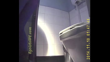 Exclusive! Sex in toilet! Pee and fucked.