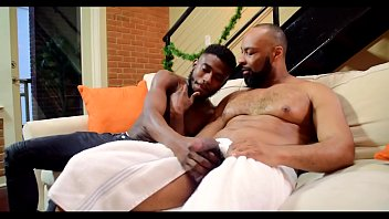 Gay healthcare atlanta Daddy shows his son how to take some dick.
