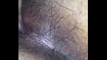 Delhi wife - hairy pussy and ass hole licked