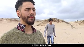LatinLeche - A Hot Latino Stud Gets His Cock Sucked By The Beach