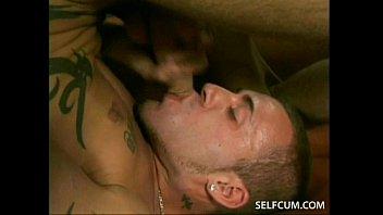 Gay men swallowing own semen videos - Tasting my own big ten inch dick