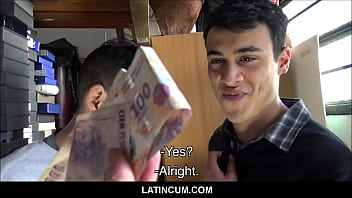 Spanish Latino Twink Paid Cash To Fuck His Straight Friend On Camera