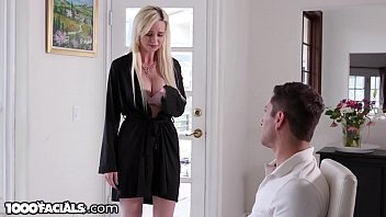 1000Facials Cheating MILF Neighbor Craves Young Dick & A Facial Thumb