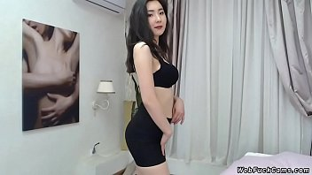Asian camgirl with nice pair of tits