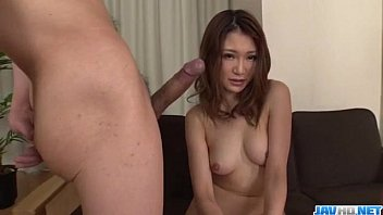 Airi Mizusawa provides strong blowjob on a tasty dick