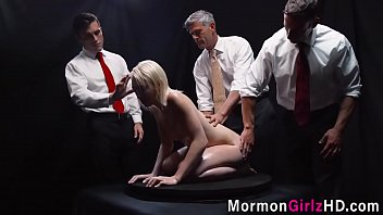 Group mormon creampied
