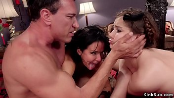 Babe fucked and fisted in threesome thumbnail