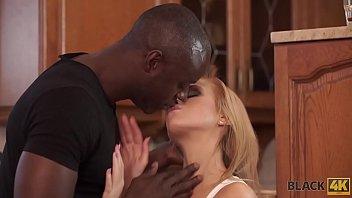 Black4K. Huge Dick Of Black Stylist Makes Blonde Beauty Karol Lilien Very Happy