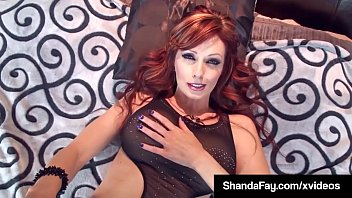 Cougar recruits sex toy - Horny cougar shanda fay helps cock fuck her moist hot cunt