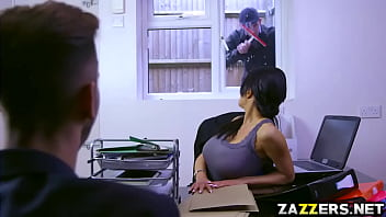 Patty Michovas window blowjob Danny Ds fat cock