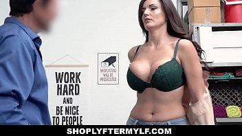 ShopLyfterMYLF - Big Tits Milf (Becky Bandini) Caught Stealing Deepthroats Security Guard 12 min