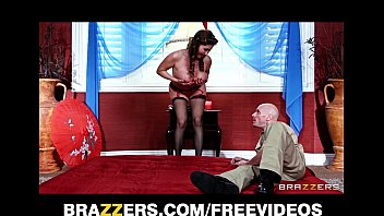 Amazing Brunette Masseuse Deep-Throats And Rides Her Client