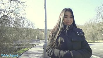 Public Agent Asian Alina Crystall fucked in abandoned building