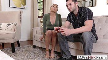 LoveHerFeet - Adria Rae With Perfect Ass And Feet Fucks Big Dick Bill Bailey