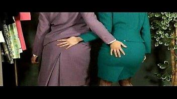 Secretary Lesbian Strip