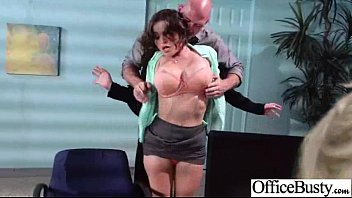 (krissy lynn) Naughty Slut Office Girl With Big Boobs Get Nailed video-13