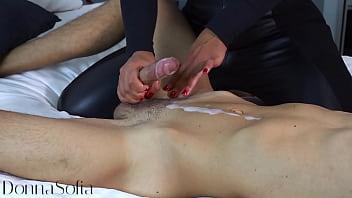 Naughty Wife Gives Me a Beautiful Handjob 052