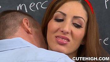 Vivie Delmonico Fucks Teacher porn thumbnail