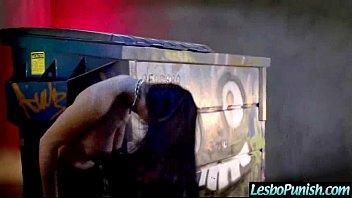Lez Girls (katrina&lezley) Get Sex Toys Punish Each Other video-23