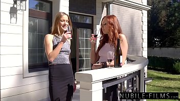 18803 Hottest Lesbian Threesome - Two Blondes & Redhead preview