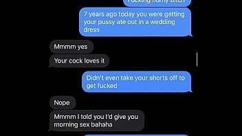 Hot Wife Teases Me with Her Barely 18 Teen Prom Pussy Sexting